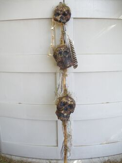 African Witch Doctor's Staff
