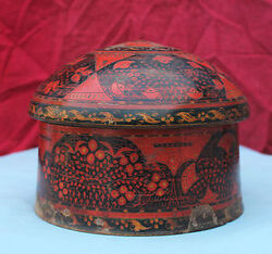 Turban box persian lacquer