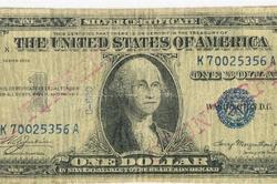 Dollar bill fake