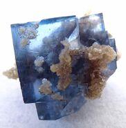 Fluorite blue