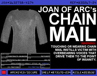 Joan of Arc's Chain Mail