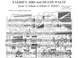 Sheet Music of Faerie's Aire and Death Waltz