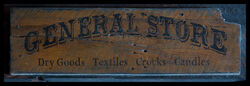 Sign general store