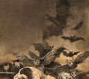 "Francisco Goya's ""The Sleep of Reason Produces Monsters"""