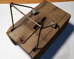 Primitive mouse trap