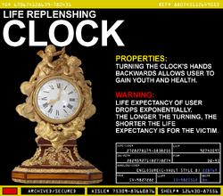 Life Replenshing Clock