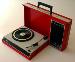Record player retro