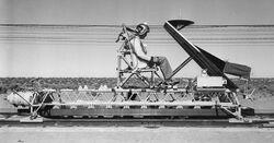 Rocket sled stapp