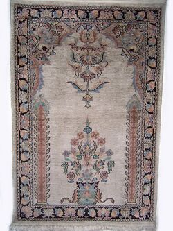 Prayer rug kashmir