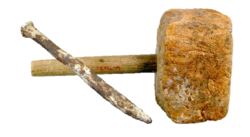 Mallet and chisel