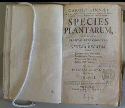 Species Plantarum tp