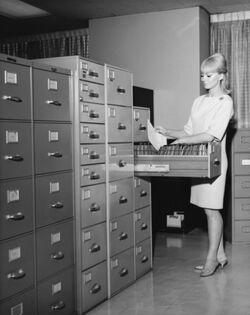 Helen Gandy's Filing Cabinets
