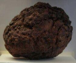Explosive Meteorite Fragment