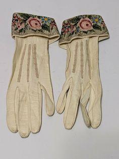 Petit point gloves