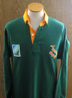Rugby jersey springbok