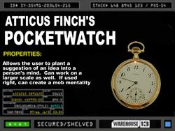 Atticus's pocket watch
