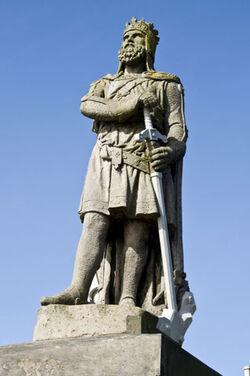 Left Arm of Statue Fergus Mor