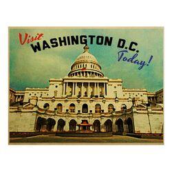 Postcard DC