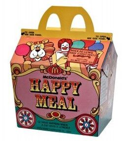 First happy meal
