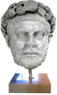 Diocletian bust
