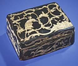 Claude Louis Berthollet's Snuff Box