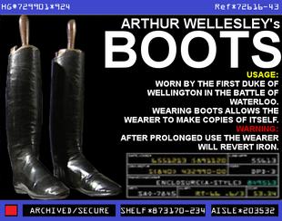 Arthur Wellesley's Boots