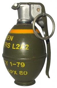 Hamburger Hill Hand Grenade