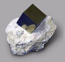 Pyrite in matrix