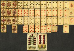 Playing cards 1800s