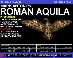 Mark Antony's Roman Aquila