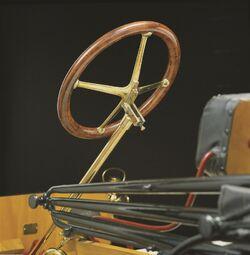 Horatio Nelson Jackson's Steering Wheel