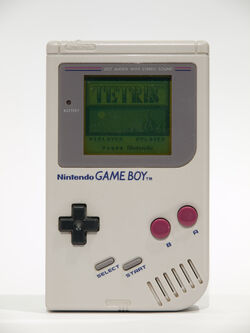 Tetris on Game Boy