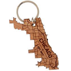 Chicago wood keychain2 grande