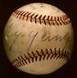 Baseball young