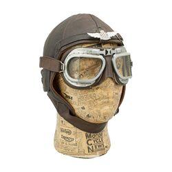 Motor aviator helmet