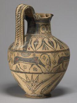 Oenochoe (wine vessel)