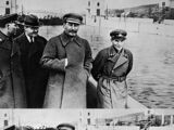 Nikolai Yezhov's Final Photograph with Joseph Stalin