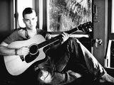 Noah Puckerman's Acoustic Guitar and Electric Guitar