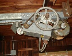 Winch and pulley