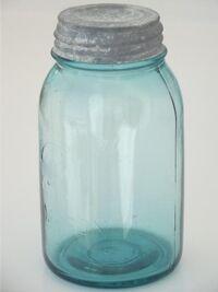 Antique-glass-jar