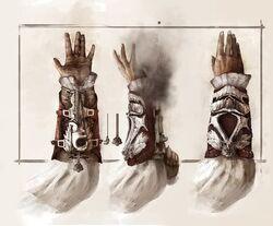 Ezio Auditore's Hidden BladeGun