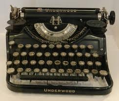 Kerouacunderwoodtypewritter