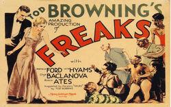 Film Reel of Freaks by Tod Browning