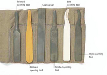 Flap and seals roll