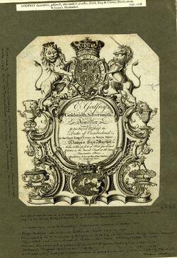 Elizabeth Godfrey Trade card