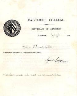 Keller radcliffe