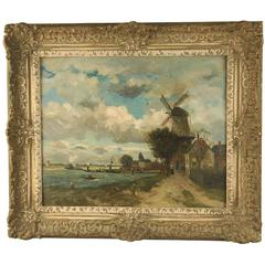 Painting 1800s, dutch