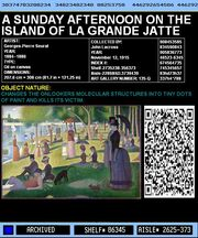 Sunday Afternoon On the Island of La Grande Jatte