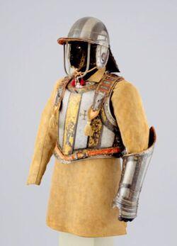 Armor harquebusier ironsides