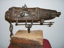Cemetery gun